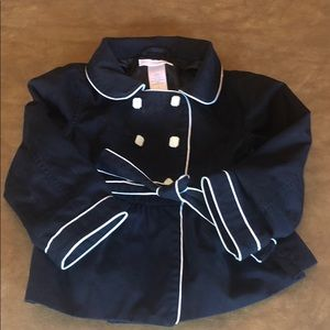 Janie and Jack trench coat 2T - like new